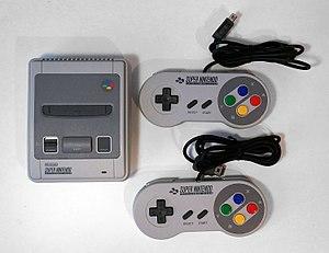 Super NES Classic Edition - European variant