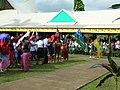 Niue and Solomon Islands flags (7750481908) (2).jpg