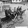 Noordeuropese kampioenschappen waterski, Nederlandse ploeg vlnr Ben Wolterin, Bestanddeelnr 916-7861.jpg