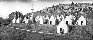 Tuberculosis treatment in Colorado Springs - Nordach Sanatorium, Austin Bluffs, Colorado in 1906