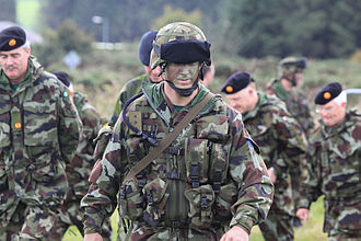 Military of the European Union - Irish Army personnel from the Nordic Battle Group at an exercise in 2010
