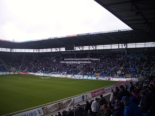 Nordkurve (Block U) Stadion Magdeburg