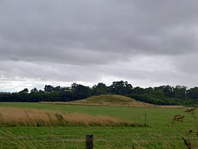 Round barrow on Normanton Down