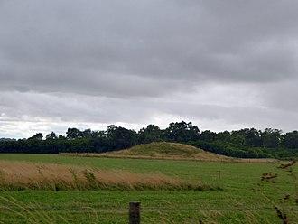 Normanton Down Barrows - Round barrow on Normanton Down