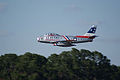 North American F-86F-30-NA Sabre Skyblazers Snodgrass 1st Pass 06 TICO 13March2010 (14596068941).jpg