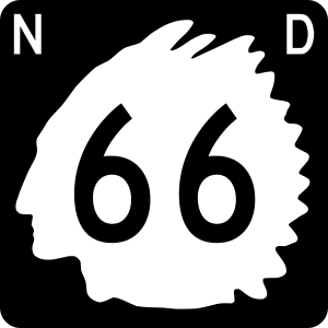 North Dakota highway shield