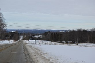 Cambridge Township, Crawford County, Pennsylvania - Rolling hills south of Cambridge Springs