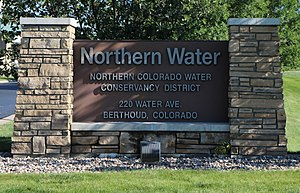 Northern Colorado Water Conservancy District - Headquarters in Berthoud.
