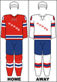 Norway national hockey team jerseys - Olympics.png