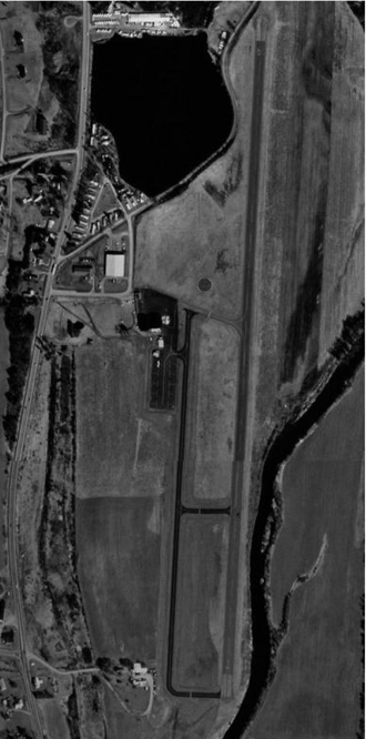 Lt. Warren Eaton Airport - 1995 orthophoto from USGS