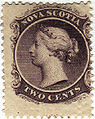 Nova Scotia two cents stamp (Queen Victoria).jpg