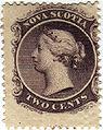 Nova Scotia two cents stamp (Queen Victoria).jpg