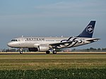 OK-OER Skyteam Czech Airlines (CSA) Airbus A319-112 cn3892 takeoff from Schiphol (AMS - EHAM), The Netherlands pic2.JPG
