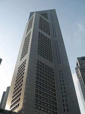 One Raffles Place - Image: OUB Centre