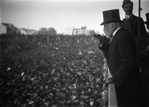 University of Lisbon (1911–2013) - Image: O conselheiro Augusto José da Cunha num comício eleitoral, em Lisboa, 1908