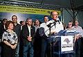 O governador do estado de São Paulo Geraldo Alckmin, entrega em Jundiaí , o complexo viário do Trevo Nove de Julho da SP-330 (38414080502).jpg