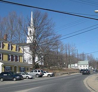 West Boylston, Massachusetts - Image: Oakdale, Massachusetts