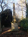 Obelisk in Earlham Road Cemetery, Norwich.JPG