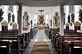 Obereschach Pfarrkirche Blick zum Chor 02.jpg