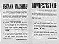 Obwieszczenie w sprawie wydania Żyda policji w Grójcu 1941.jpg