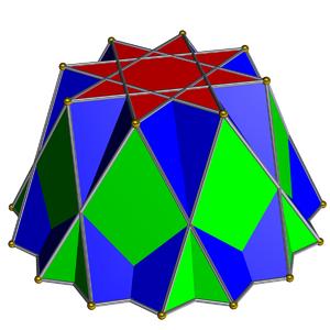 Octagrammic cupola - Image: Octagrammic cupola