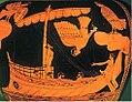 Odysseus-siren Parthenope, the mythological founder of Naples.jpg