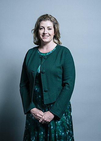 Minister for Women and Equalities - Image: Official portrait of Penny Mordaunt