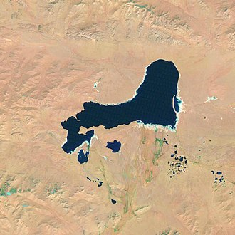Oigon Lake - Oigon Lake satellite image (Landsat 5, 2011-09-21)
