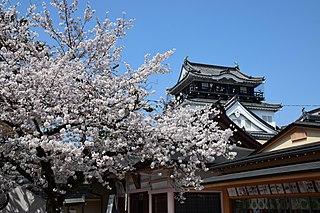 castle in Okazaki, Aichi Prefecture, Japan
