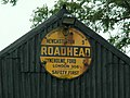 Old AA sign on shed at Roadhead - geograph.org.uk - 522753.jpg
