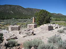 Ruins at Old Iron Town
