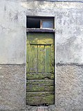 Old green door, Castiglion d'Orcia, Tuscany.jpg