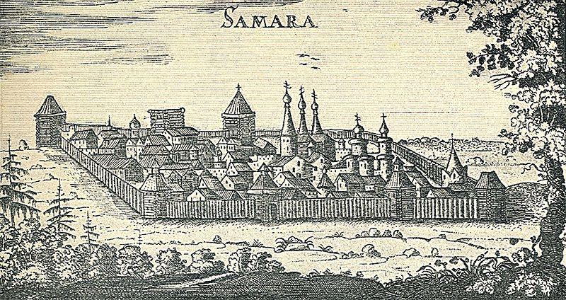 Рисунок Адама Олеария, XVII век. Источник
