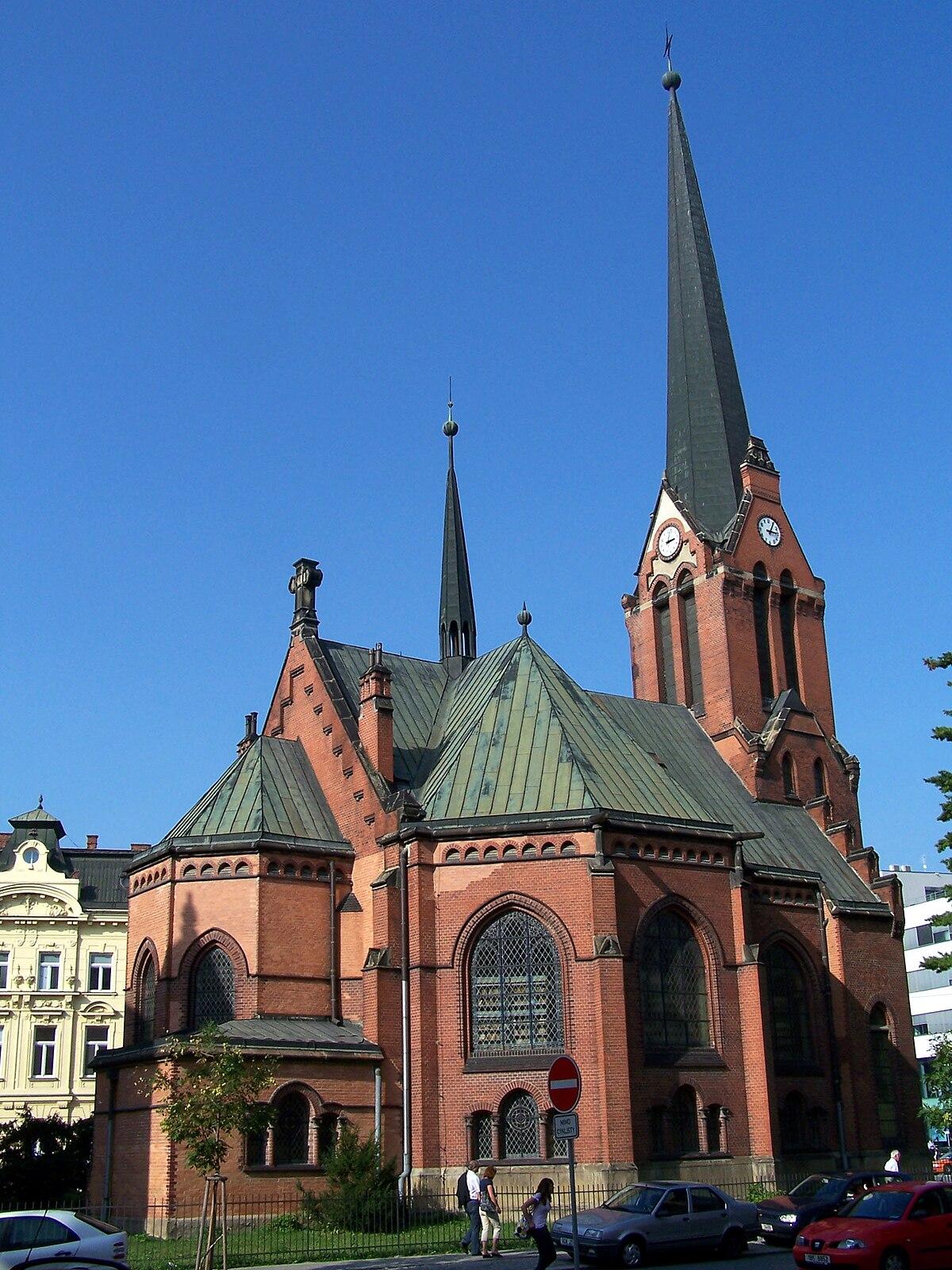 Červen 253 Kostel Olomouc Wikipedie