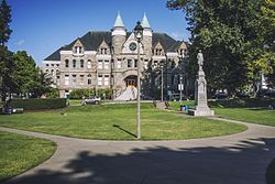 Olympia, WA — Old Capitol Building and Sylvester Park.jpg