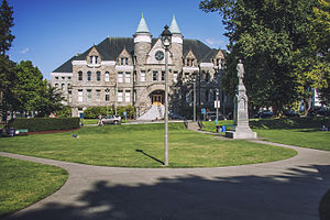 Old Capitol Building - Image: Olympia, WA — Old Capitol Building and Sylvester Park