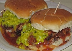 Memphis-style barbecue - Pork sandwiches at Payne's