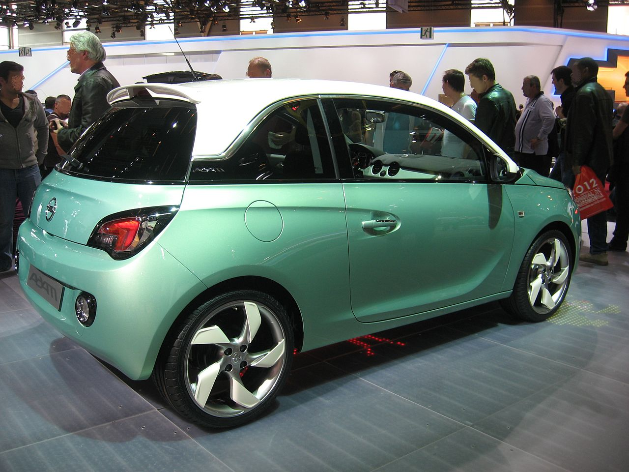 File Opel Adam Green Rear Jpg Wikipedia