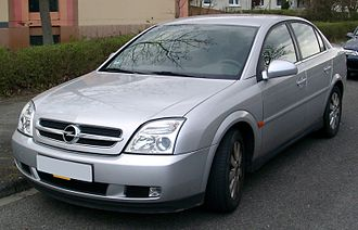Opel India - Image: Opel Vectra C front 20080331