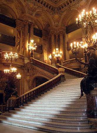 Stairs - Stairway of the Opéra Garnier (Paris, France)