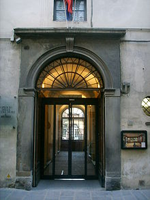 Opificio delle pietre dure, ingresso.JPG