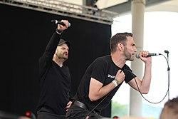 Orange Sector, Blackfield-Festival 2014, Gelsenkirchen