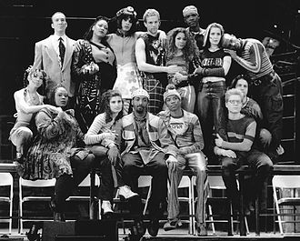 Rent (musical) - Original Broadway cast, 1996