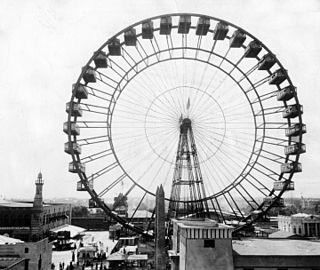 Ferris Wheel the original Ferris Wheel, designed and built as the centerpiece of the 1893 Worlds Columbian Exposition in Chicago, Illinois