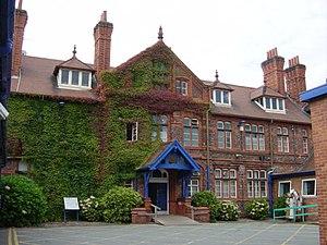 Original entrance Broadgreen Hospital