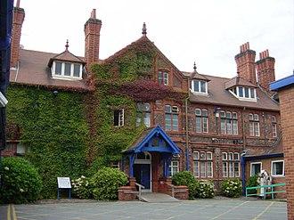 Broadgreen Hospital - Original entrance, Broadgreen Hospital