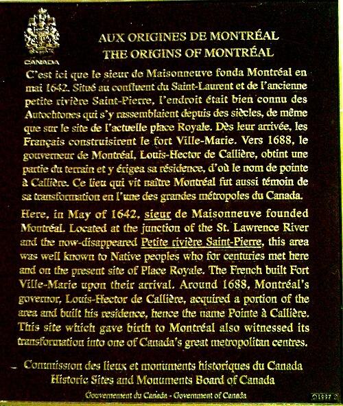 Origines montreal