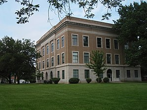 Osage County Courthouse, gelistet im NRHP