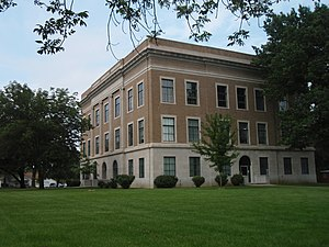 Osage County, Kansas - Image: Osage County Courthouse Kansas