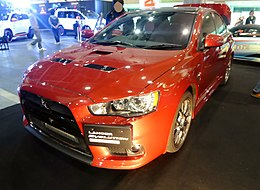 Osaka Auto Messe 2016 (565) - Mitsubishi LANCER EVOLUTION FINAL EDITION (CBA-CZ4A).jpg